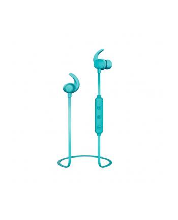 Słuchawki z mikrofonem Thomson WEAR7208PU Bluetooth douszne turkusowe