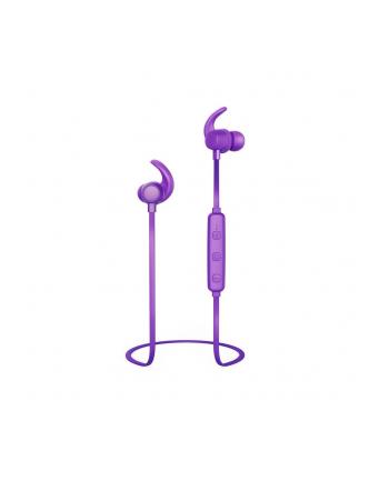 Słuchawki z mikrofonem Thomson Bluetooth WEAR7208PU douszne purpurowe