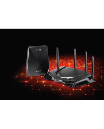 Netgear XRM570-100EUS Gaming Router (XR500) and Mesh WiFi Extender (EX7700) System