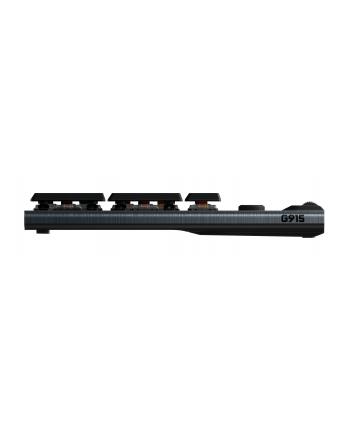 logitech Klawiatura bezprzewodowa G915 RGB Mechanical Tactile 920-008910
