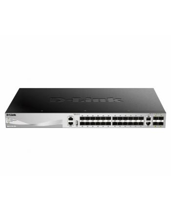 d-link Przełącznik DGS-3130-30S/SI 24GE 2x10G 4xSFP+