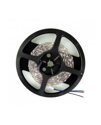 Whitenergy Taśma LED 5m IP22 16mm 28.8W/m 12V 120szt/m SMD5050 RGB