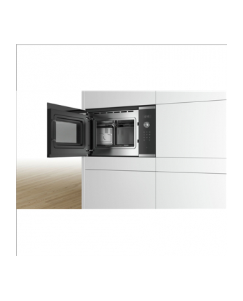 Bosch BFL554MS0 Microwave Oven , Serie 6, Built-in, 900W, 25L, stainless steel