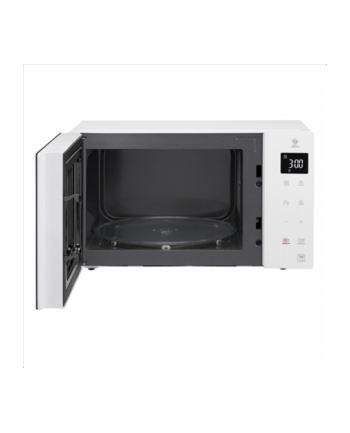 LG MS23NECBW Microwave Oven, 1000 W, 23 L, White
