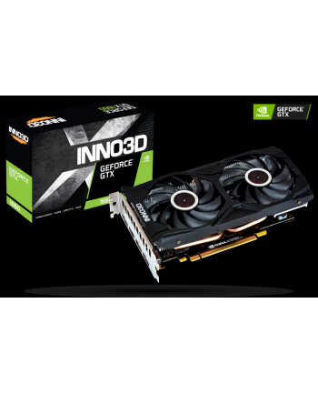 INNO3D GeForce GTX 1660 GAMING OC X2, 6GB GDDR5, HDMI, 3xDP