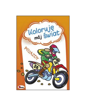 morex Książka Koloruję mój świat. Pojazdy