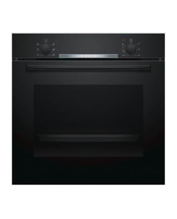 Bosch HBA530BB0S Built in Oven, Serie 2, 71L, A, 3400W, black