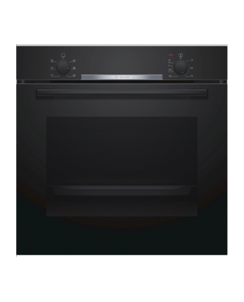 Bosch HBA530BS0S Built in Oven, Serie 2, A, 71L, connection power 3400W, stainless steel Bosch Oven HBA530BB0S Built-in, 71 L, Black, Eco Clean, A, Push pull buttons, Height 60 cm, Width 60 cm, Integrated timer, Electric