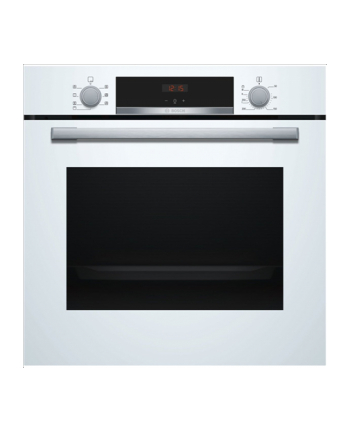 Bosch HBA533BW0S Built in Oven, Serie 4, 71L, A, 3400W, white
