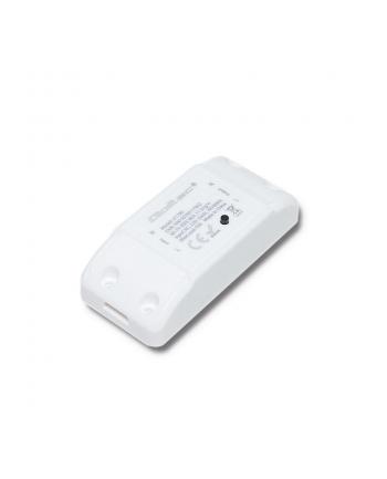Qoltec Inteligentny przełącznik Wi-Fi Smart | biały