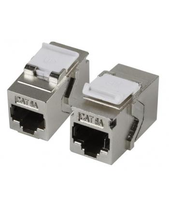 efb elektronik EFB Adapter zatrzaskowy Keystone RJ45 STP, Cat.6A