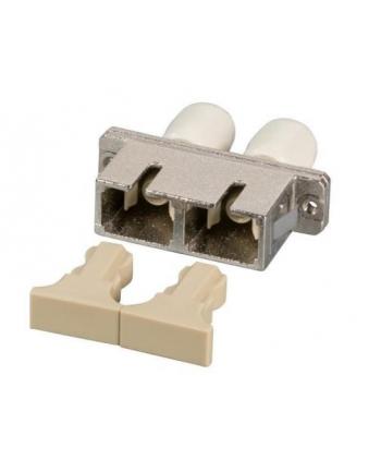 efb elektronik EFB Adapter ST/SC Duplex wielomodowy, beżowy