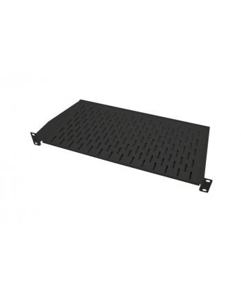 efb elektronik Półka rack 19'' 1U, 250mm, perforowana, max. 10 kg, czarna