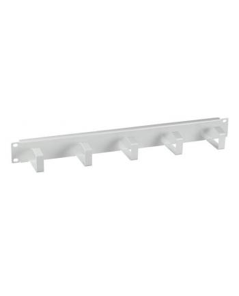 efb elektronik EFB Oganizer kabli do szaf Rack 19'' 1U, 5 uchwytów, metal, szary