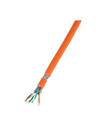 efb elektronik EFB Infralan® Cat.7 kabel instalacyjny 100% miedź S/FTP 1000 MHz 100m pomarańcz