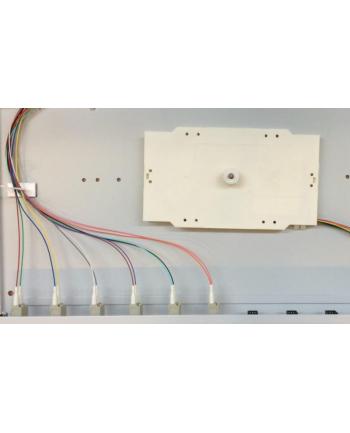 efb elektronik EFB Przełącznica światłowodowa 6x adapter LC-Duplex/12x pigtail OM2/tacka spawów