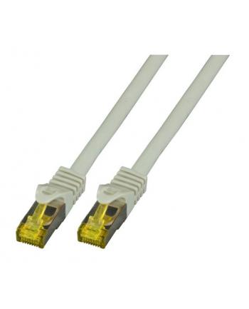 efb elektronik EFB Patch cord S/FTP, kat. 6A RJ45, LSZH, 5m, zrobiony na kablu kat. 7, szary