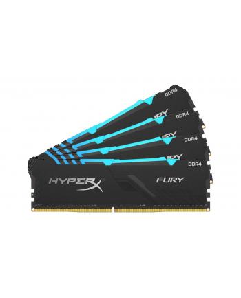 Kingston HyperX FURY 32GB 2400MHz DDR4 CL15 DIMM (Kit of 4) 1Rx8 RGB