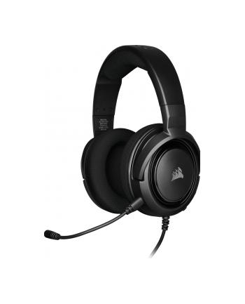 Corsair słuchawki gamingowe HS35 Stereo, Carbon (EU)