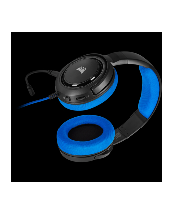 Corsair słuchawki gamingowe HS35 Stereo, Blue (EU)