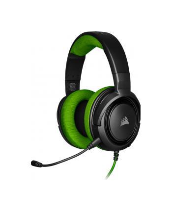 Corsair słuchawki gamingowe HS35 Stereo, Green (EU)