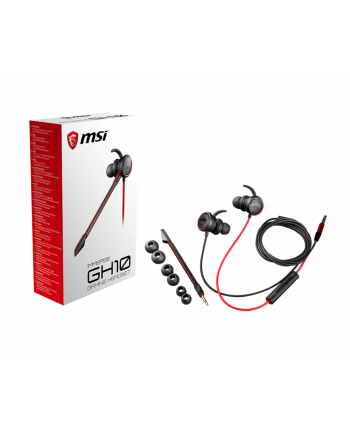MSI Słuchawki Gamingowe Immerse GH10 (douszne)