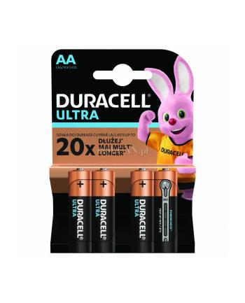 Zestaw baterii alkaliczne Duracell Ultra Power AA/LR6 (Alkaliczny manganowy; x 4)