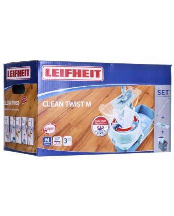 Mop Zestaw Leifheit Clean Twist M 52014