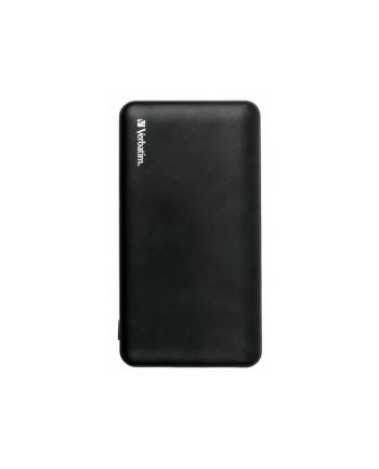 Power Bank Verbatim 49570 (10000mAh; microUSB  USB typ A; kolor czarny)