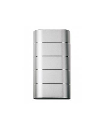 Power Bank Verbatim 49572 (10000mAh; microUSB  USB typ A; kolor srebrny)