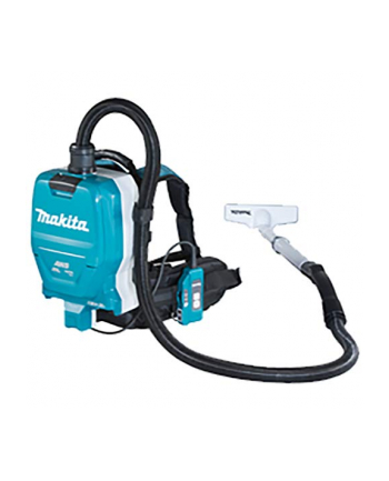 Makita cordless backpack vacuum cleaner DVC265ZXU, Canister(blue / black, without battery and charger)