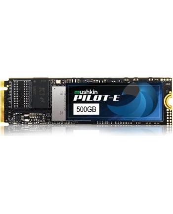 Mushkin pilot E 500 GB Solid State Drive(black, PCIe Gen3 x4 NVMe 1.3, M.2 (2280))