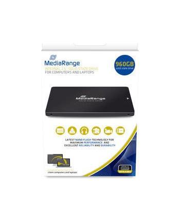 Mediarange MR1004 960 GB Solid State Drive(black, SATA 6 Gb / s, 2.5 '')