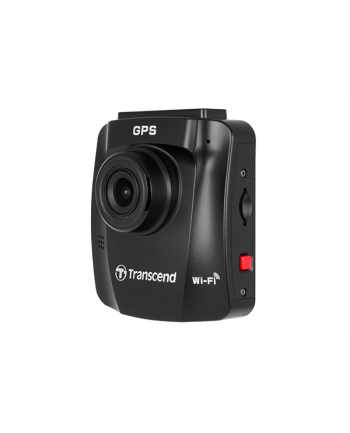 Transcend DrivePro 230Q Data Privacy, dashcam (black, suction cup)