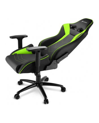Sharkoon Elbrus 3 Gaming Chair, gaming chair (black / green)