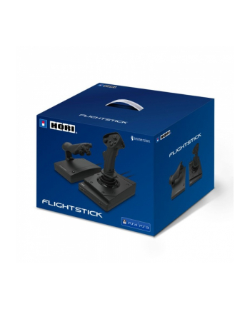 HORI HOTAS flight stick (black, PlayStation 3, PlayStation 4, PC)