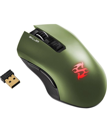 Sharkoon SKILLER SGM3, mouse(green)