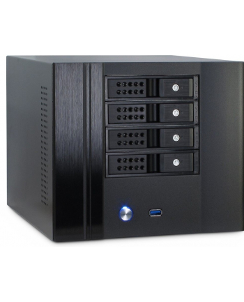 Inter-Tech SC-4004 4 * HDD black ITX storage enclosure