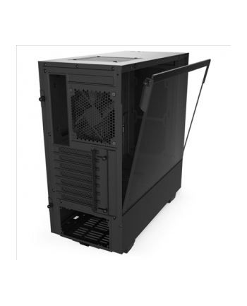 NZXT H510 Black Window, tower case (black, Tempered Glass)