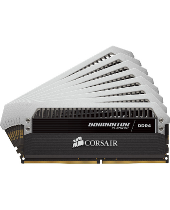 Corsair DDR4 -  128 GB -3200 - CL - 16 -  Octo-Kit - Dominator Platinum (black, CMD128GX4M8B3200C16)