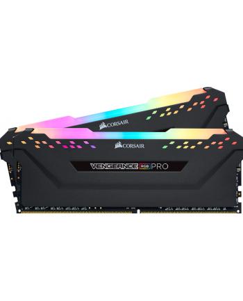Corsair DDR4 - 16 GB -3600 - CL - 18 - Dual Kit -  Vengeance RGB PRO (black, CMW16GX4M2D3600C18)