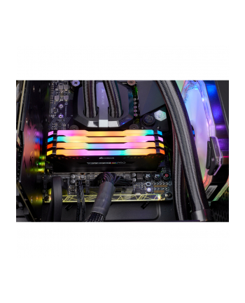 Corsair DDR4 - 32GB -3600 - CL - 18 -  Quad Kit - Vengeance RGB PRO (black, CMW32GX4M4D3600C18)