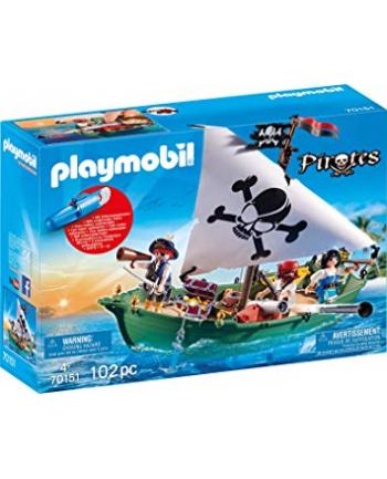 Playmobil 70151 Pirates Ship Multi-Coloured