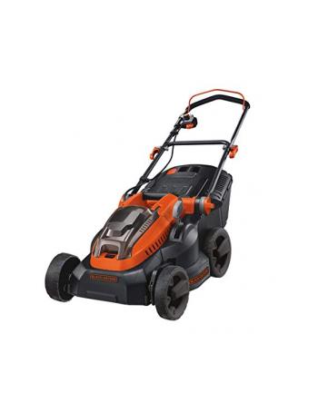 black+decker BLACK + DECKER cordless lawn mower CLM3820L1, 36Volt(black / orange, Li-ion battery 2.0 Ah)