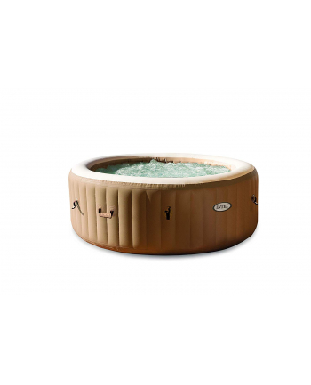Intex Pure SPA 77 ''Bubble, swimming pool(brown / white, jet massage with anti-calcifier)