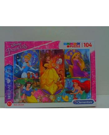 clementoni CLE puzzle 104 Brilliant Princess 20140