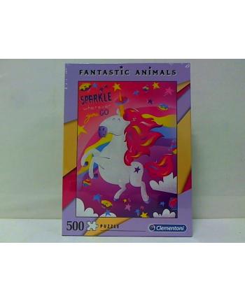 clementoni CLE puzzle 500 Fantastic Animals 1 35066