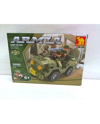 dromader-klocki Klocki armia jeep wojskowy 22404