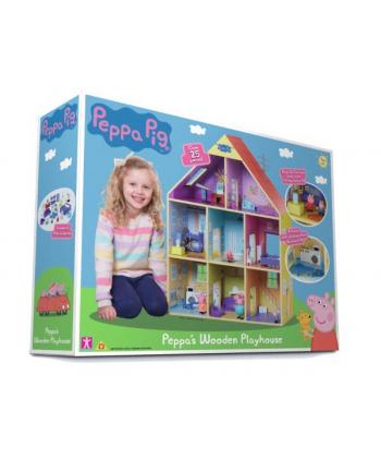 tm toys Peppa Drewniany domek Peppy 07004