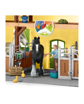 Schleich 42485 Farm World Końska stajnia